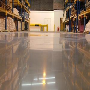 Полимерные полы для склада